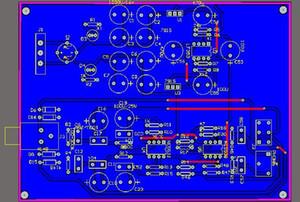 NE5532 NE5532 auriculares amplificador esquemática y PCB 5532 envío libre del auricular del auricular de PCB