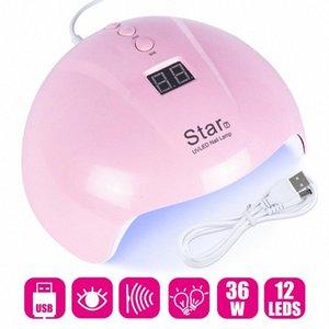 36W ногтей Сушилка UV LED лампы для ногтей Отверждение Все Гель лак маникюрный Sun Light USB Мини-сушильное оборудование Nail Art Инструменты LAStar7 up0o #