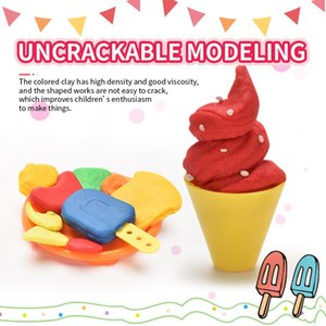 5D color clay toy DIY Vegetable clay mold toy Color mud pressing mold Children creative toy easy pinching