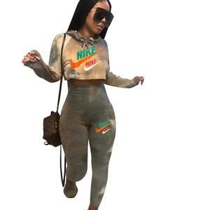 Summer New Age сокращение 2020 2 шт женщин сексуальный комплект Camel Tank Top Полная длина Hollow из Tracksuis долго ethika Set