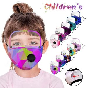 Многоразовая маска для лица Моды съемной Eyeshield Респиратора маски для лица Kid Кемпинг Маски для защиты ростка флага бандана