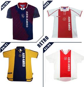 Ajax 94 95 97 98 00 01 04 05 Retro Fußball-Trikot weg klassischer Kluivert Rijkaard Litmanen 00 01 04 05 Vintage-Fußballhemd
