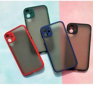100p лучшие продажи iphone11 аксессуаров для мобильных телефонов кожи чувства защитной крышки матовой текстуры мобильного телефон случай PC + TPU матовых мобильных тел
