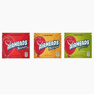 Vacíos medicado ojivas Airheads Xtremes Starburst Sour Gummies Bolos medicado caramelo bolsas de embalaje de envío libre de DHL 2020