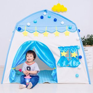 Kids Game Tent Princess Castle Tent Baby Ocean Ball Play House Collapsible Portable Folding Baby Birthday Gifts Photography Pro