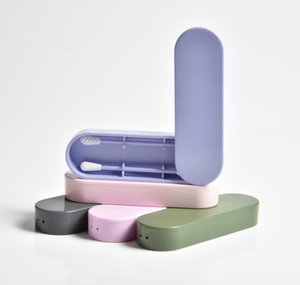 Kutu İçin Temizleme Makyaj Ve Dokunmatik Ups DWC1093 ile Lastswab Yeniden kullanılabilir Kulak Çubuğu Kulak Temizleme Kozmetik Silikon Tomurcuklar Svaplar Çubukları