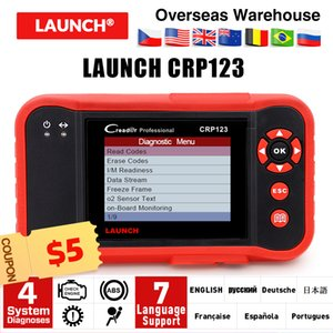 2019 최고 판매 시작 CRP123 업데이트 온라인 발사 X431 Creader CRP123 ABS, SRS, 변속기 및 엔진 코드 스캐너 DHL 무료