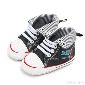 New Classic Children's Canvas Shoes for Boys and Girls Small Children Sneakers 2018 Fashion Casual Color Sports Shoes First Walk Soft