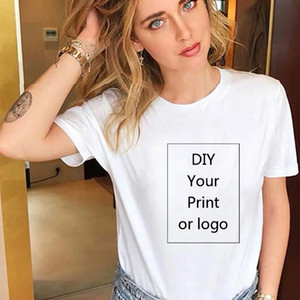 100% Cotton Customized T Shirt 12 Color Oversized Women men DIY Your Like Photo or Logo Tees T-Shirt Fashion Men's Custom Tshirt