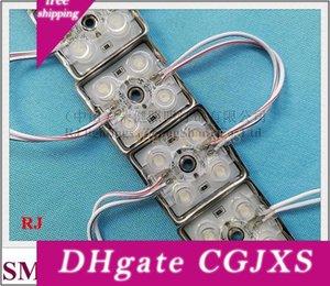 С Lens Led Light Module СМД 2835 Светодиодный модуль для глухонемых DC12V Smd2835 4 Led 1 .2w 120LM 38мм * 38мм * 8 мм Водонепроницаемый IP65