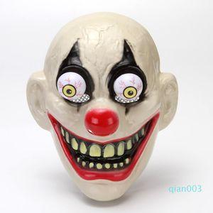 Yeni Cadılar Bayramı Kafatası Vampire Palyaço Maskesi Süper Korku Parti Maskesi Korku Masquerade Maskeler Tam Yüz Maskeleri Cosplay Kostüm Prop DBC VT0920 Maske