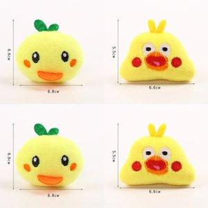 VAsgU Sıcak satış sevimli peluş broş karikatür Diy Bie Zhen Pim goo tavuk Ördek çocukların DIY saç aksesuarları giyim sırt çantası pimi decoratio
