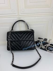 2020 Hot Fashion Style Classique preppy cœur de l'amour des femmes sac sacs à main en cuir véritable sac à bandoulière sac à bandoulière Incliné Sacs de soirée