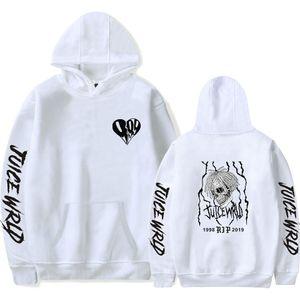 New print Juice WRLD Hoodies Men Women Sweatshirts Hooded Hip Hop Fashion Casual Hoodie Juice WRLD boys girls white pullovers 200923