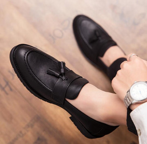spring Hot sales mens shoes men dress shoes glossy stylist mens designer shoes Homecoming men luxury loafers 408