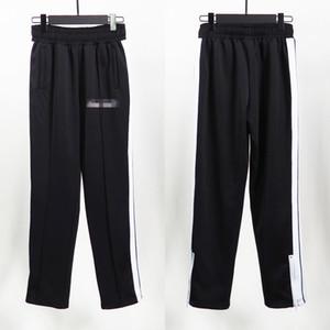 Palmiers européens et américains Angels Pantalons Sports à rayures Hommes Pantalon décontracté Slim Pantalons simples