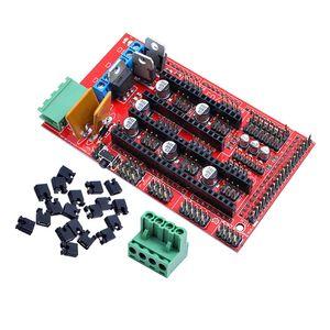 Printer impressão 3D Parts Acessórios 1set rampas 1.4 Painel Control Board Parte Motherboard 3D Printers Parts Escudo Vermelho Preto Controles Ra ...