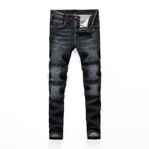 Heißes neues Produkt Mens Designer Mode Hosen heißen Verkaufs-Cowboy-berühmte Marken-Reißverschluss-Designer dünne dünne Jeans-heißen Verkauf-Hip Hop-Denim
