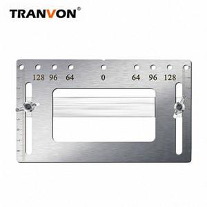 TRANVONAuxiliary ferramenta orifício maçaneta orifício de gabinete de reparação alça substituir posicionamento artefato mtQM #