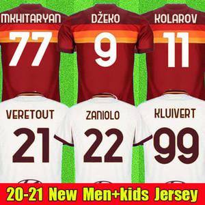 최고의 태국 품질 2020 2021 토티, 데 로시 AS 제코 ROMA 축구 유니폼 (20 개) (21 개) 콜라 로프 클루이베르트 축구 축구 셔츠 남자 아이 키트 세트