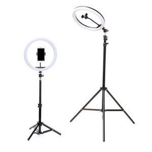 In linea Celebrity diretta Cellulare Staffa treppiede con lampada di inondazione 2,1 / 1,6 metri lampada Staffa pavimento-tipo Camera Tripod live Accessori