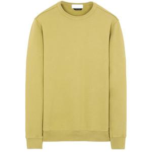 19FW 62720 CREWNECK SWEATSHIRT T0PST0NE Long Sleeve T Shirt Simple Solid Sweatshirt Fashion Pullover Sweater Sportwear Street HFLSWY354