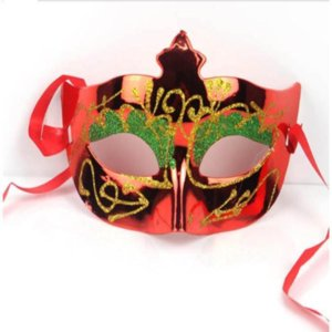 Gras plus Taille Couleur Femmes Half Fit Mask Assorti balle Mask Mardi mascarade Halloween Venetian Glitter hvDEA allguy