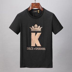 한국 전기 드 보헤미안의 ADLV 브랜드 디자이너 최고 품질 남성 여성 T 셔츠 패션 0111 티 짧은 소매 # 인쇄하기