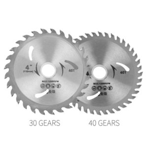 4 Inch Alloy Saw Blade Cutting Disc Grinding Sanding Practical Cutting Saw Blade Polishing Set 40 T Sturdy Finisher High Quality