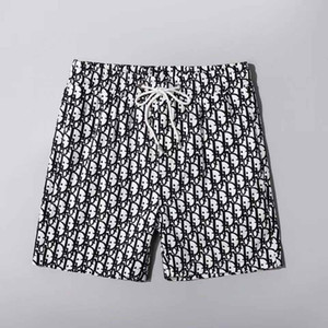 Neue Strandkurzschlüsse Großhandel Sommerkurzschlüsse der Männer 2019 modische populäre Logo Anzug Strandhosen der Männer Badeanzug schwimmen Bretthosen