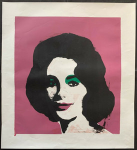 Andy Warhol LIZ TAYLOR Wall Decor Oil Painting Home Decoration Wall Art Canvas Pictures For Living Room 200831