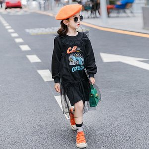 Kız kazak orta boy 2020 Triko çocuk giyim Sonbahar yeni orta ve büyük çocuklar Kore tarzı İnternet ünlü top fashiona