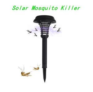 Neue Solar-Moskito-Mörder-Insekt-Wanzen Zapper Schädlingsbekämpfung im Freien Garten-Rasen-LED-UV-Licht-Lampe Moskito-Mörder-Lampe