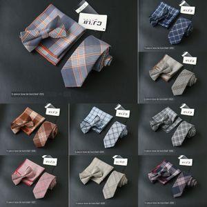 Moda erkekler rahat Kore tarzı takım elbise elbise kravat kravat cebi üç parçalı küçük yüz yüz havlusu Elbise küçük kare havlu kare eşarp pruva gd4g
