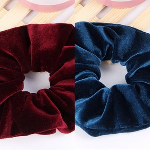 URWhi Hochwertiges Gold Samt großen Darm Ring japanischen und koreanischen Größe accesso blumige Kopfbedeckung Tuch Ring Pferdeschwanz Kopfschmuck Haar