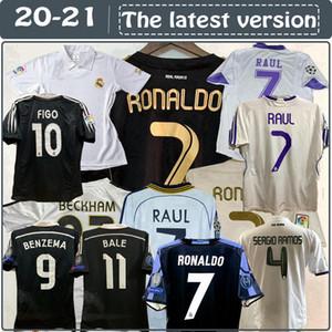 Retro klasik Real Madrid futbol formaları Zidane 02 03 04 05 07 08 2010 2011 2012 2014 2015 16 17 Retro futbol forması 1997 1998 1999 2000