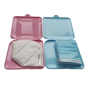 Dustproof Face Masks Container Portable Disposable Mask Case Safe Pollution Free Disposable Mask Storage Box