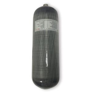 AC1090 Acecare 9L CE Yüksek Basınçlı 300bar 4500Psi PCP Karbon Elyaf Basınçlı gaz tüpü için PCP Hava Sıkıştırılmış Tabancası