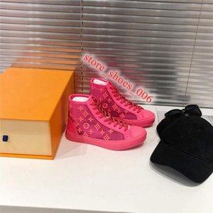 Louis Vuitton Shoes Top 2020 célébrité Web étoiles les plus cool Les plus chaussures tendance, chaussures de sport respirant occasionnels Couples série couleur fluorescente,