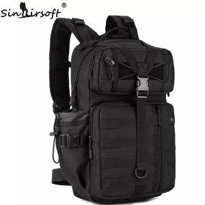 Ombro caça SINAIRSOFT Outdoor Tactical Backpack 1000D Nylon Waterproof Exército Camping Caminhadas mochila Multi-purpose Molle Sports Bag