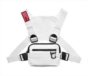 Trendy Chest Rig Bag For Men Women Outdoor Streetwear Hip Hop Chest Bags Men Disco Tactical Vest Small Square Chest Packs New