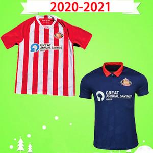2020 2021 선더랜드 축구 유니폼 홈페이지 RED WHTER AWAY BLUE HONEYMAN (20) (21) 웸블리 MAJA 그자 축구 셔츠 맥과이어 WYKE maillots 드 발