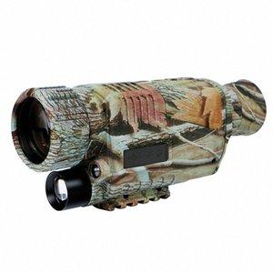 5X42 Digital Infrared Night-Vision Goggle Monocular 200M Faixa de vídeo do DVR Câmaras de imagens para a caça câmera do dispositivo (os EUA) y88t #