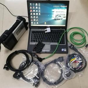 Mb Star C5 deviazione standard collega con la più nuova versione del software 2.020,06 HDD / SSD portatile esplorazione diagnostico del D630 per auto camion