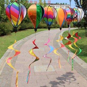منطاد الهواء الساخن كم الريح الديكور خارج ساحة حديقة الحزب الحدث الديكور DIY اللون الرياح المغازل