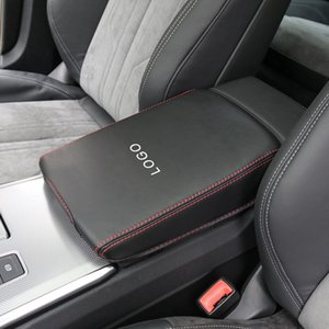 For Audi A6 S6 RS6 A7 S7 RS7 2004-2020 Car Center Armrest Box Cover Protector PU Leather Mat Pad Cushion Interior Accessories