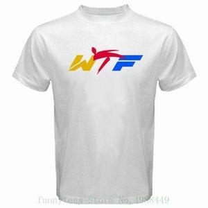 White T Shirt Nuovo formato del mondo di WTF Taekwondo Federation Uomo S alla 3XL Tops Gioventù Tee Shirts