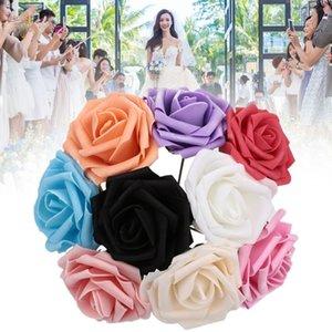 Multicolor Soft-Beautifuly Leichte PE-Schaum-Blumen-Fälschungs-Rose Künstliche Blumen Roses Schlafzimmer Frauen Hochzeit