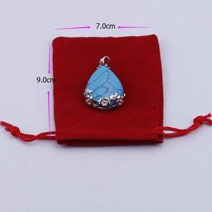Borse con coulisse borse con coulisse per gioielli in velluto hot 100pcs / lot Regalo Red TMTIW