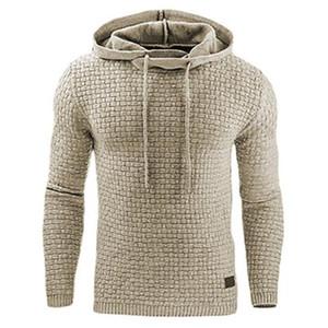 Hoodies Men 2020 Brand Male Long Sleeve Solid Color Hooded Sweatshirt Mens Hoodie Tracksuit Sweat Coat Casual Sportswear S-5XL